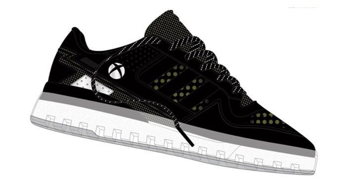 Microsoft ve Adidas'tan Xbox temalı spor ayakkabı geliyor