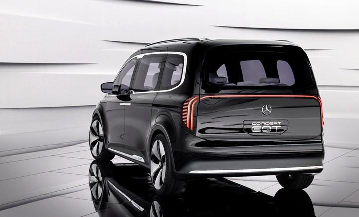 Mercedes Concept EQT tanıtıldı: Elektrikli ve şık ticari
