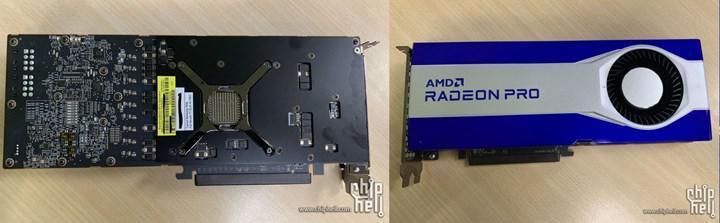 AMD Radeon Pro W6800 32 GB VRAM'le geliyor