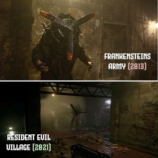 Korku filmi yönetmeni, Resident Evil Village'daki bir karakterin kendi filminden kopyalandığını iddia etti
