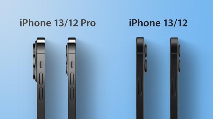 iPhone 13 kalınlığı