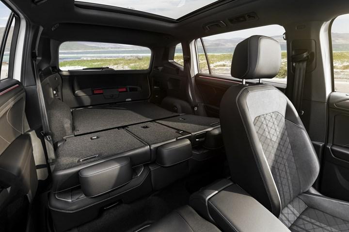 2021 Volkswagen Tiguan Allspace iç mekan