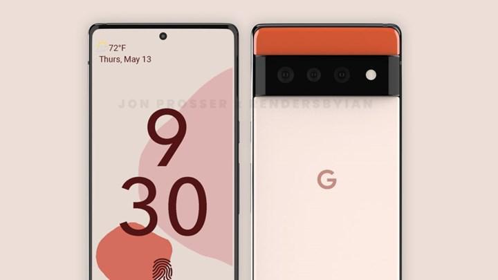 Google Pixel 6 tasarımı