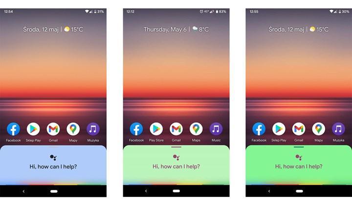 Google Asistan'ın yeni renkli kullanıcı arayüzü görüntülendi