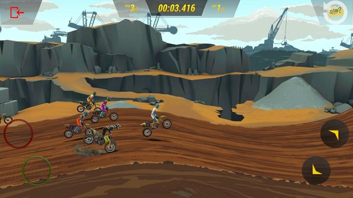 Yarış oyunu Mad Skills Motocross 3 mobil cihazlara geliyor
