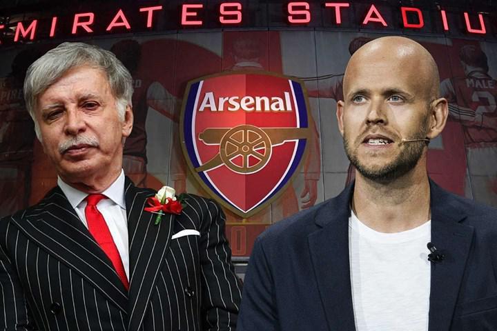 Spotify'ın kurucusunun Arsenal'i satın alma teklifi kabul görmedi