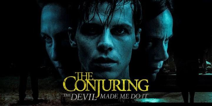 Başarılı korku filmi serisinin yeni filmi The Conjuring 3'ten korku dolu bir sahne paylaşıldı