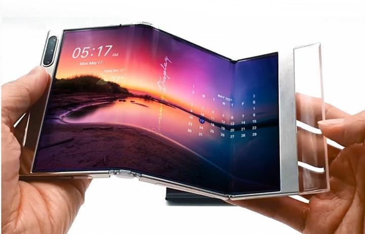 Samsung'dan Z şeklinde ve genişleyebilir tarzda ek