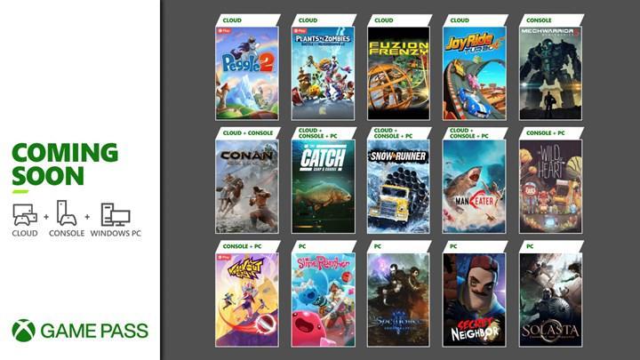 Xbox Game Pass'e Mayıs ayında eklenecek içerikler