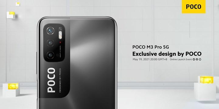 Poco M3 Pro 5G'nin tasarımı resmen onaylandı