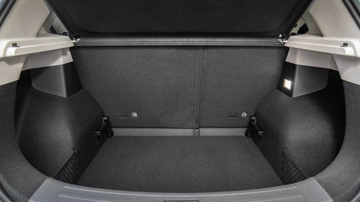 MG ZS EV bagajı