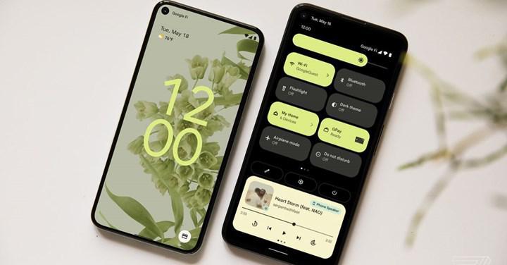 Android 12 tanıtıldı