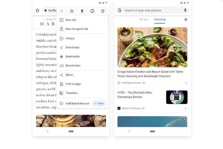 Google, Chrome tarayıcısının Android sürümünde RSS aboneliği özelliğini test ediyor