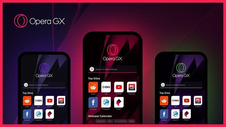 Opera GX, mobil cihazlarda erişime açıldı