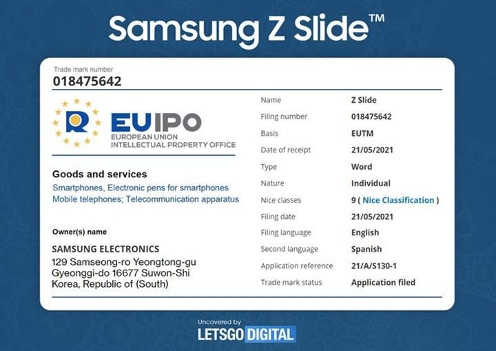 Samsung, uzayabilen ekranlı bir akıllı telefon modeli çıkarabilir: Galaxy Z Slide