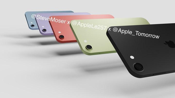 2021 iPod Touch renkleri