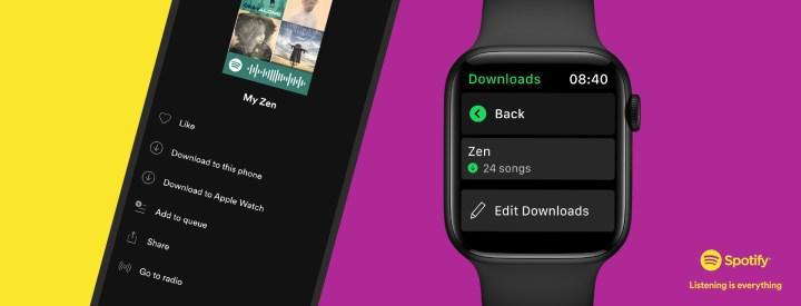 Apple Watch Spotify müzik indirme özelliği geldi