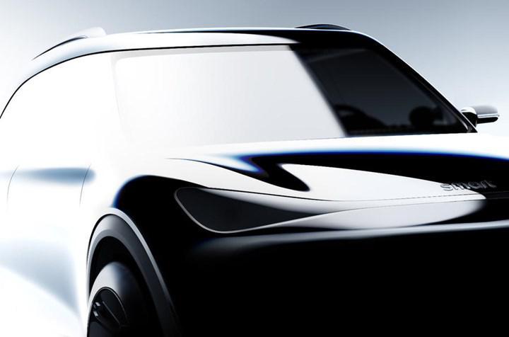 Smart'ın elektrikli SUV konseptinden ilk ipuçları geldi
