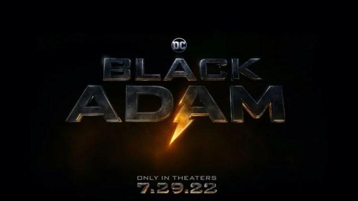 Black Adam'dan ilk görsel paylaşıldı