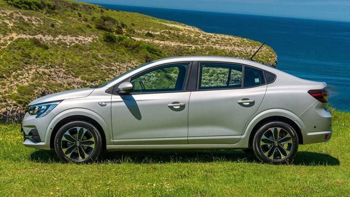 Renault Taliant yandan
