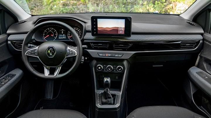 Renault Taliant iç mekan