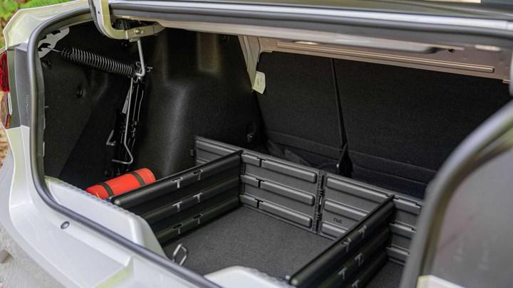 Renault Taliant bagajı