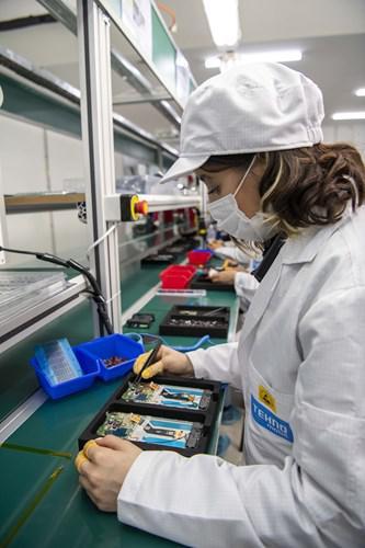 Çinli telefon markası Tecno, Türkiye'de üretime başladı