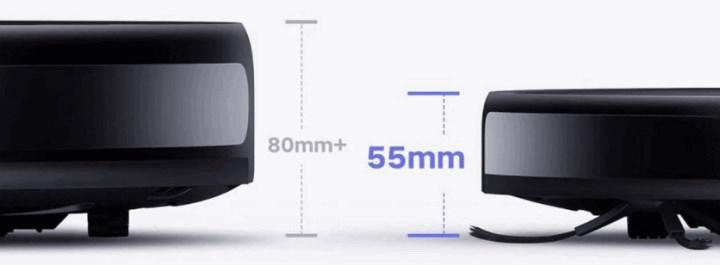 Xiaomi, 5.5 cm kalınlığında ultra ince robot süpürgesini tanıttı