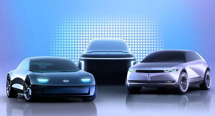 Hyundai'nin sıradaki elektrikli modelleri Ioniq 6 Sedan ve Ioniq 7 SUV'dan yeni bilgiler geldi