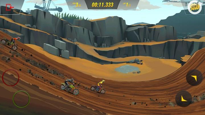 Mad Skills Motocross 3 iOS ve Android için çıktı