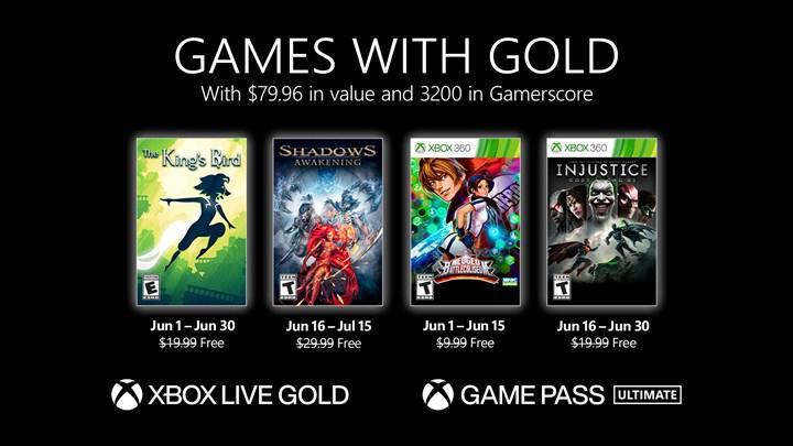 Xbox Live Gold haziran oyunları açıklandı
