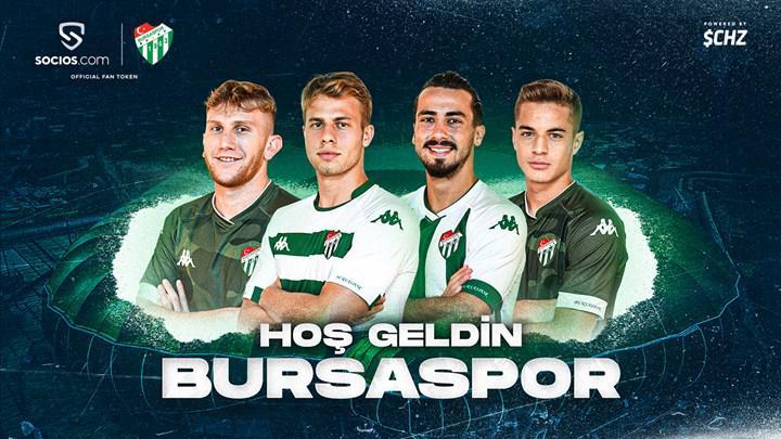 """Bursaspor """"fan token"""" çıkaracağını açıkladı"""