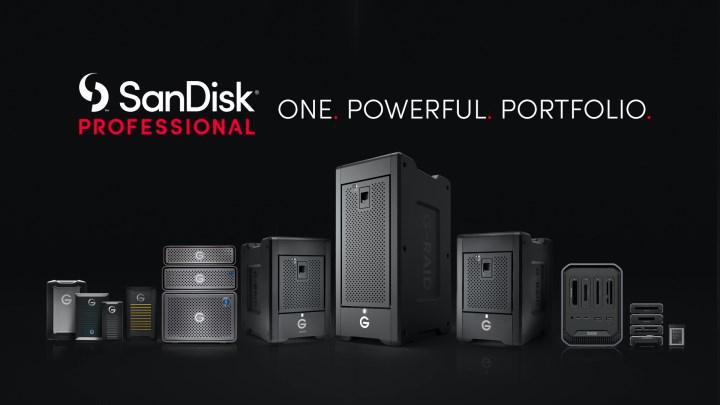SanDisk Professional ürün gamı tanıtıldı