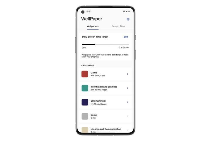 OnePlus, Digital WellPaper uygulamasını tanıttı