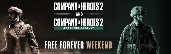 Company of Heroes 2, Steam'de ücretsiz