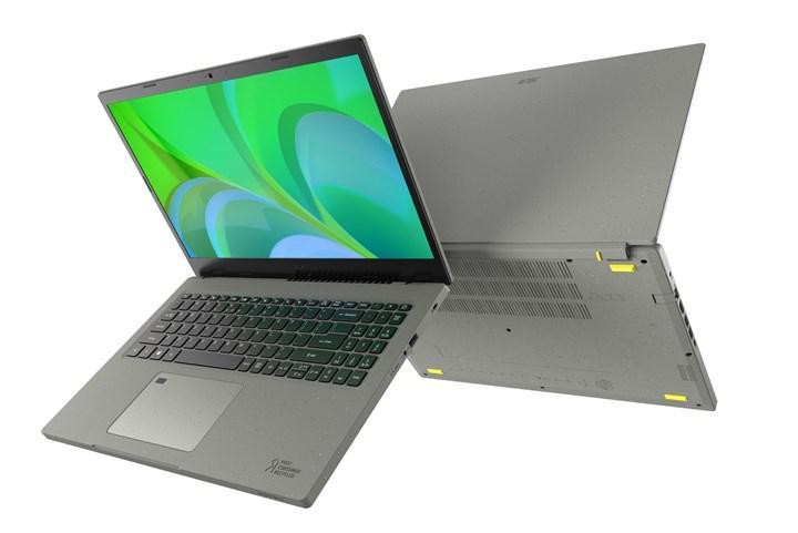 Geri dönüştürülmüş plastikten üretilen Acer Aspire Vero dizüstü bilgisayar tanıtıldı