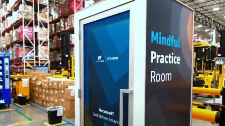 Amazon, çalışanları için yeni 'iyi olma odaları' kuruyor