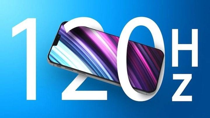 Samsung, iPhone 13 Pro modelleri için 120Hz OLED ekran üretimine başladı