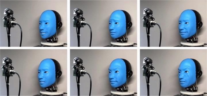 Bir robota insan ifadelerine nasıl karşılık vereceği öğretildi