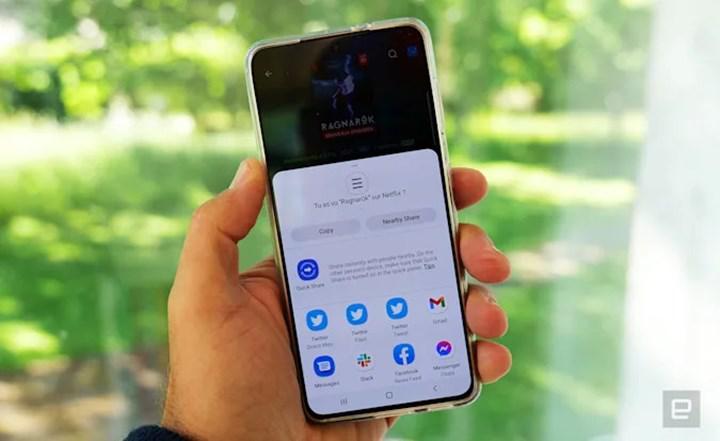 Android 12 ile üçüncü taraf uygulamalar varsayılan paylaşım menüsü olarak ayarlanamayacak