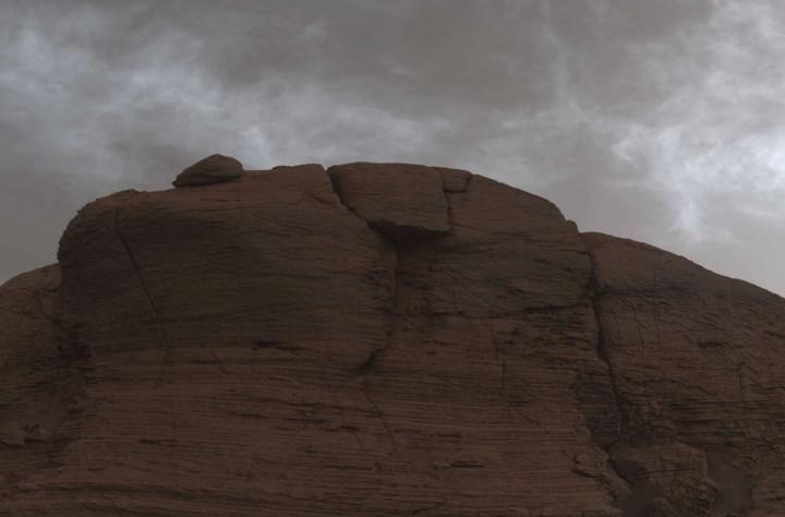 Curiosity gezgini Mars'ın ilginç bulutları görüntüledi: İşte fotoğraflar