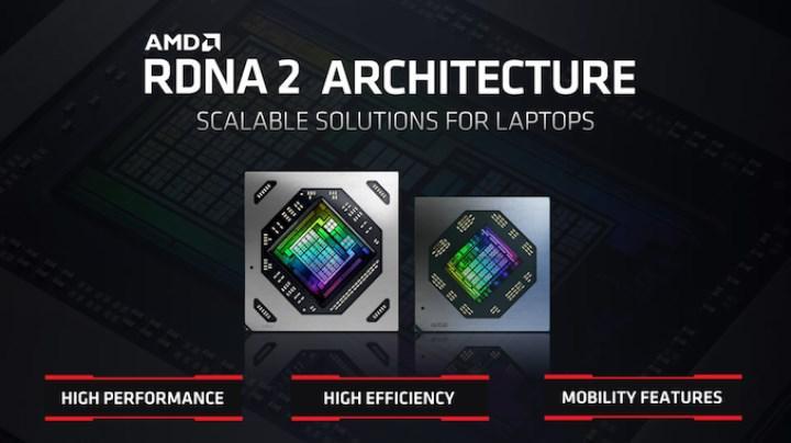 Radeon RX 6000M serisi mobil sistemler için tanıtıldı