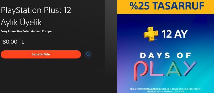 PS Plus abonelik fiyatlarında beklenen indirim başladı