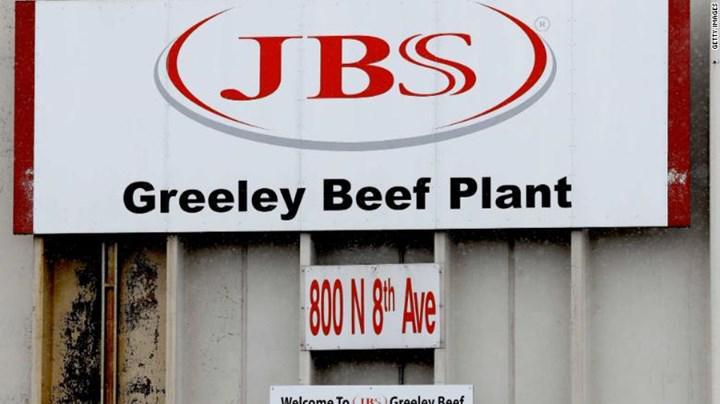 Dünyanın en büyük et üreticisine siber saldırı düzenlendi