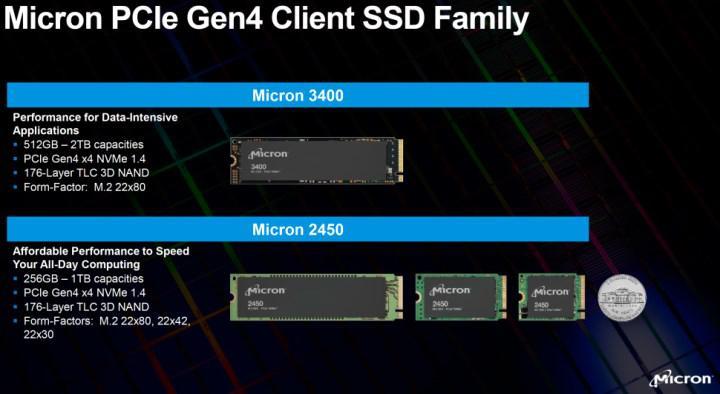 Micron 2450 ve 3400 SSD verimliliği hedefliyor