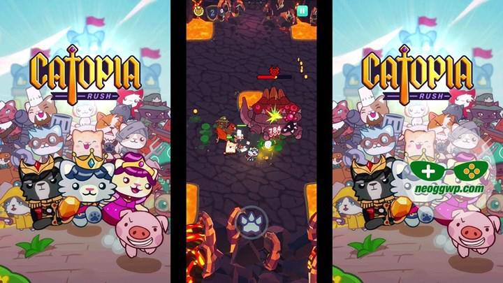 Catopia Rush, mobil cihazlar için çıkışını yaptı