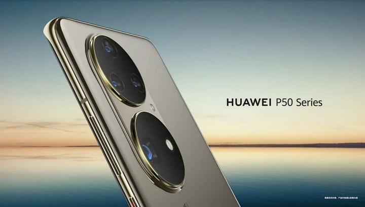 Huawei, kutudan HarmonyOS ile çıkacak olan amiral gemisi P50'yi ilk kez gösterdi
