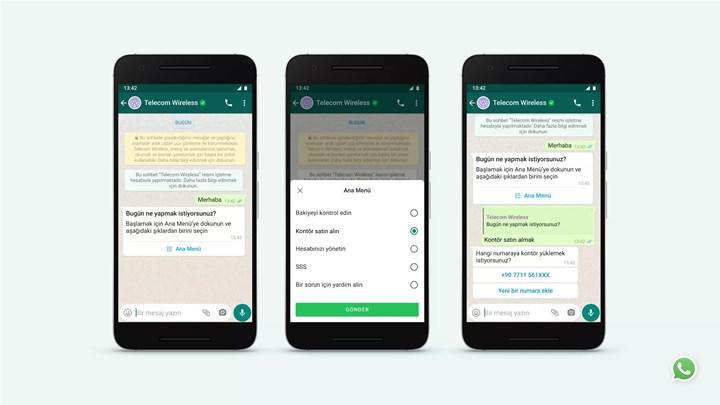 WhatsApp, işletmelerle müşterileri arasındaki iletişimi iyileştiriyor