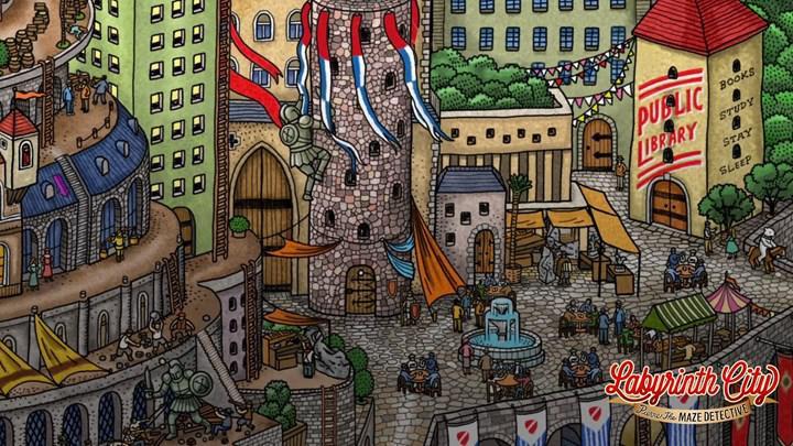 Labyrinth City: Pierre the Maze Detective mobil cihazlara geliyor
