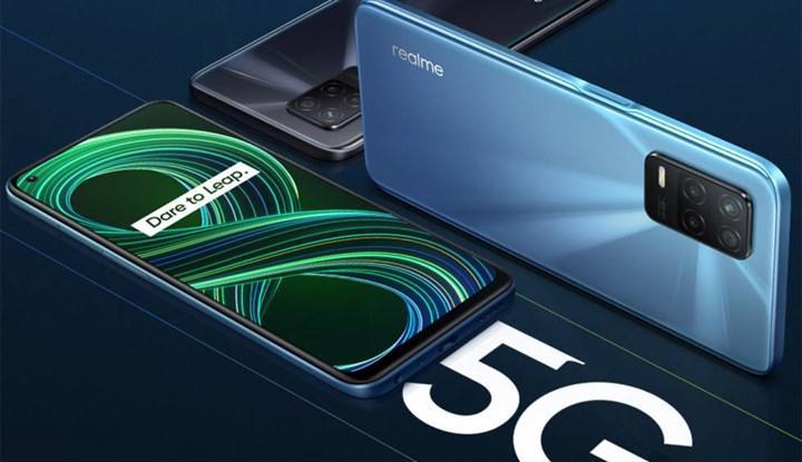 Realme, üç yıl içinde 5G cihazlarını 100 milyon kişiye ulaştırmayı hedefliyor